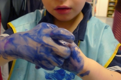 Hand Painting Pre-School Room 3