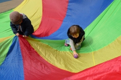 Parachute Outdoor Play Time